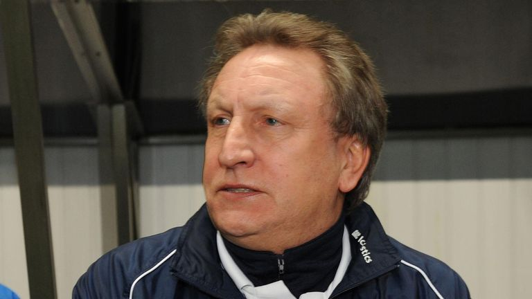 Crystal Palace manager Neil Warnock in 2010