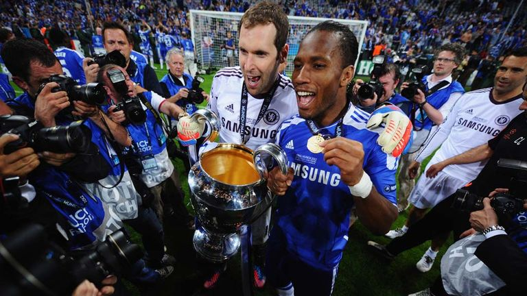 Petr Cech played a starring role in Chelsea's 2012 Champions League final success