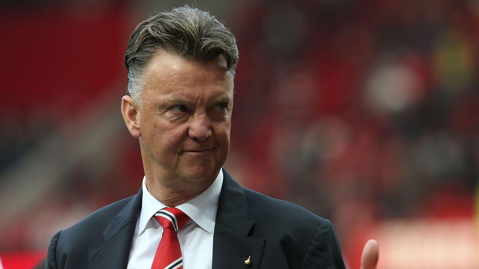 Premier League: Louis Van Gaal Pleased With Manchester