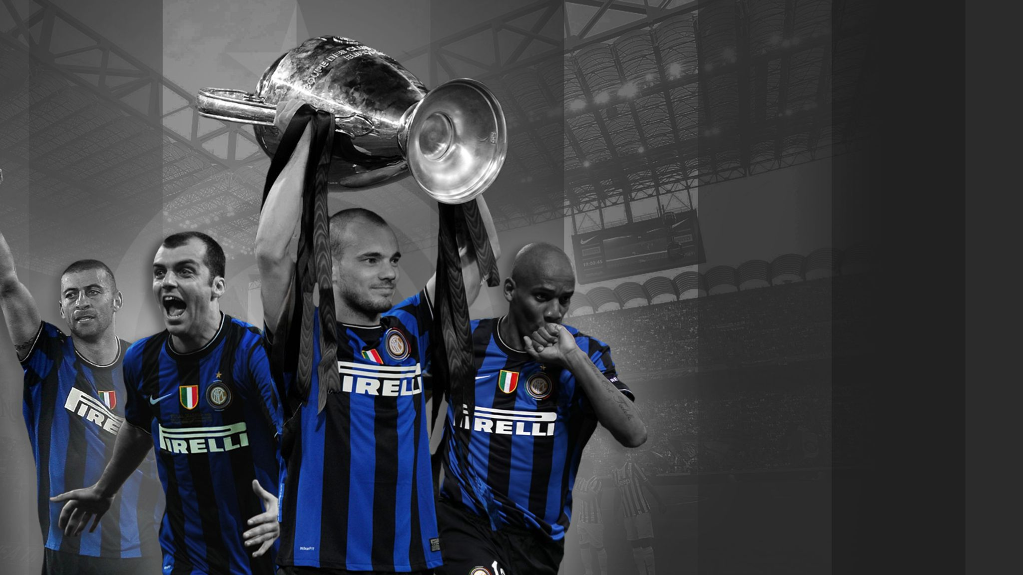 Inter S 2010 Champions League Side Where Are They Now Football News Sky Sports