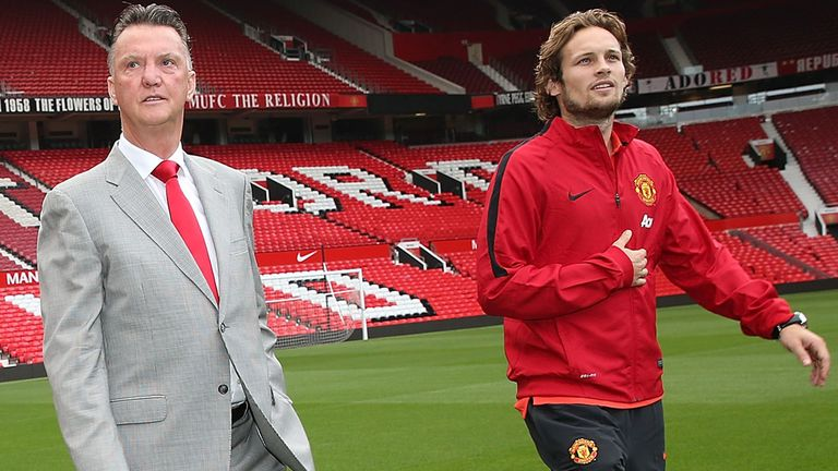 Daley Blind says boss Louis van Gaal can be brutally honest.