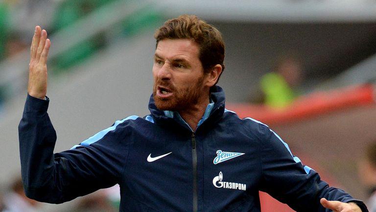 Head coach Andre Villas Boas of Zenit St. Petersburg