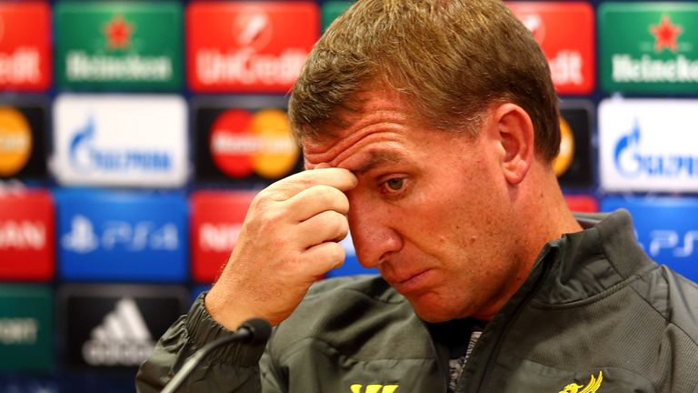 Brendan Rodgers Liverpool Prem Lge