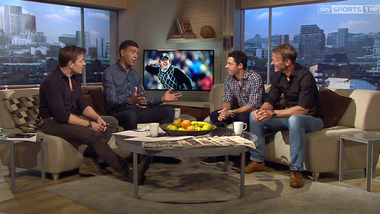 Rory McIlory joined Ben and Kammy on Goals On Sunday