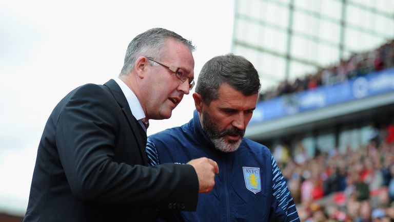 Paul Lambert and Roy Keane: The pair have worked well together so far