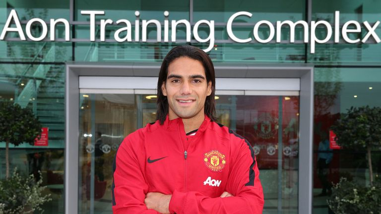 Radamel Falcao: how will the summer signing slot in to Manchester United's strike force?