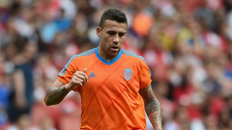 Otamendi left Porto for Valencia for €12million in 2014