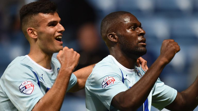 Frank Nouble: Scored a fine second goal for Coventry