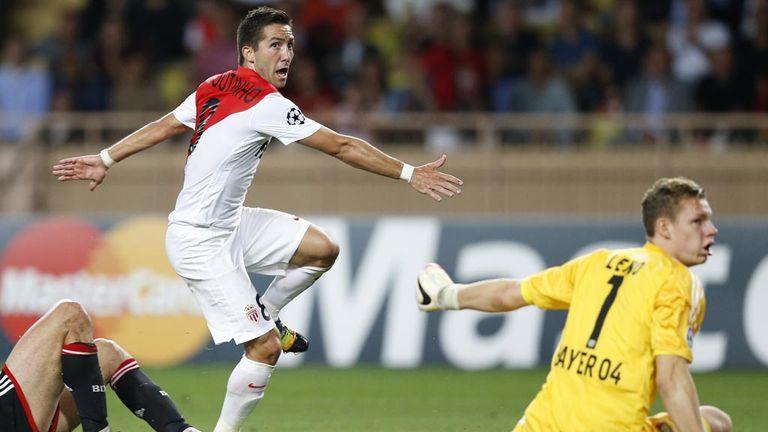 Joao Moutinho pounces as Monaco see off Bayer Leverkusen 1-0