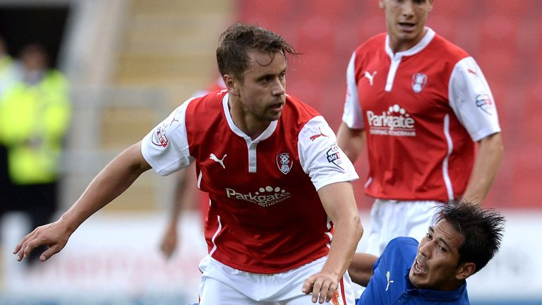 Kari Arnason: Netted winner for survival chasing Rotherham