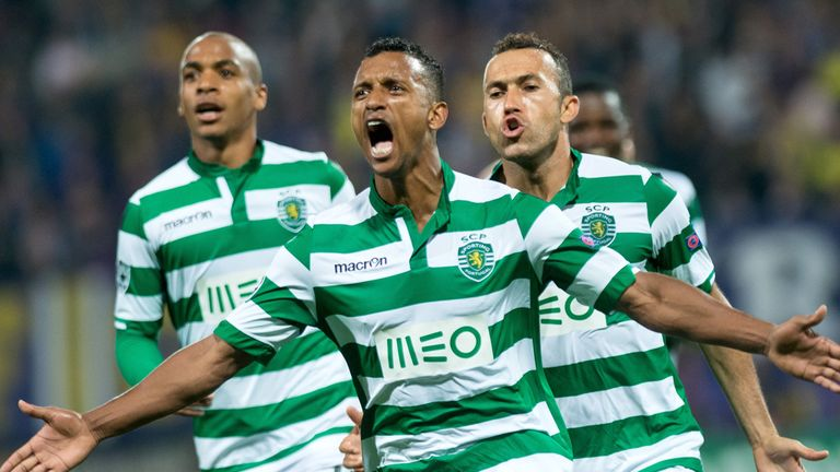Nani is the main man at Sporting and thriving with the responsibility it brings