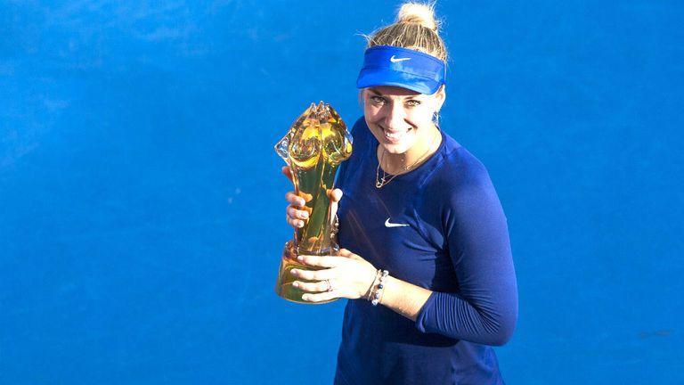 Sabine Lisicki: The German won her first WTA title in three years