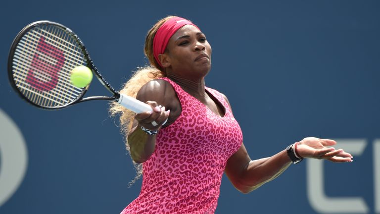 Serena Williams: Through to face Flavia Pennetta in the quarter-finals