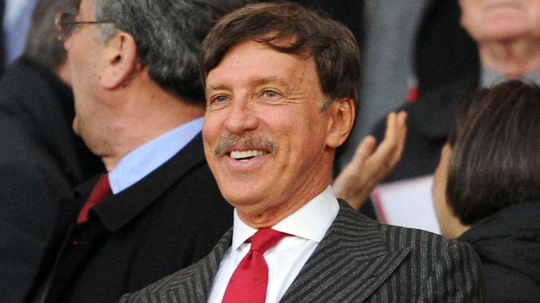 Arsenal Director Stan Kroenke during the Premier League match between Arsenal and Wigan at Emirates Stadium