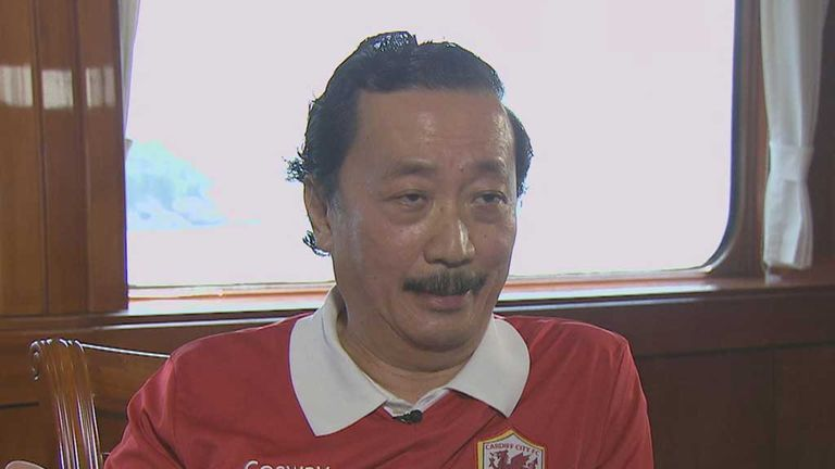 Vincent Tan: Cardiff owner with big plans