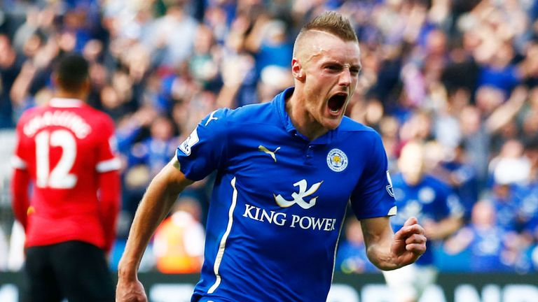 Jamie Vardy has equalled a Premier League goal record this season