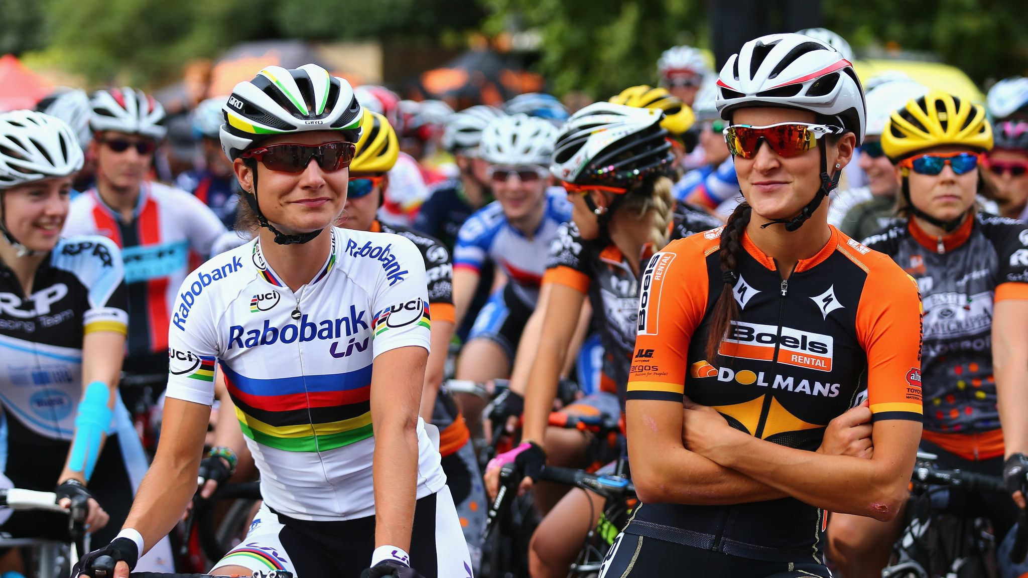 Marianne Vos says women's Tour of Britain shows potential of female cycling