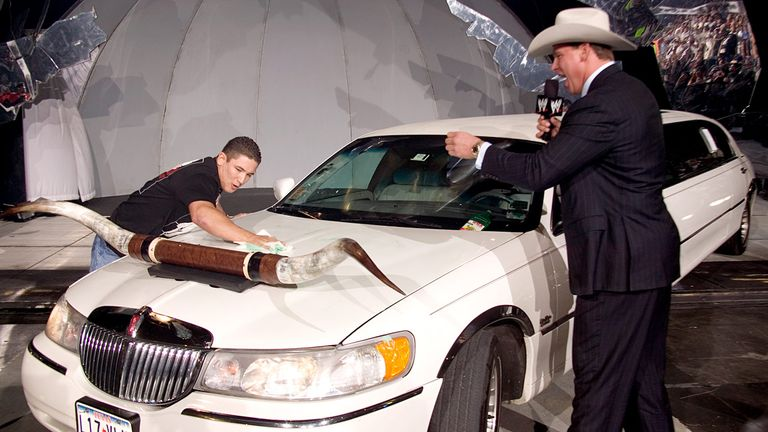 JBL used to get minions to clean his limo - but was pretty skilled between the ropes