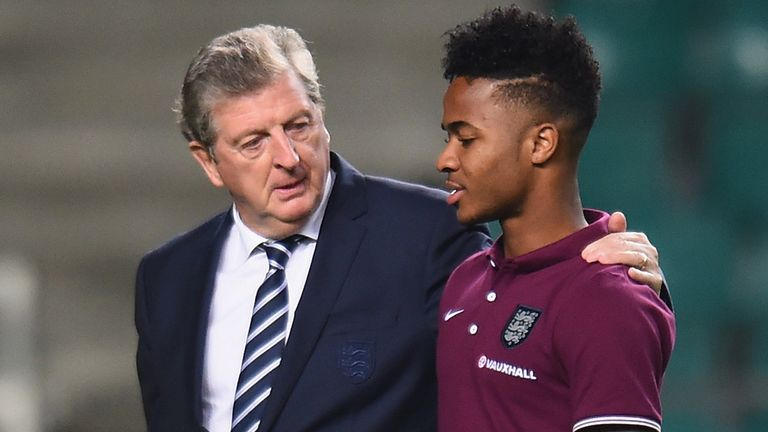 Roy Hodgson: 'Sterling told me he was tired'