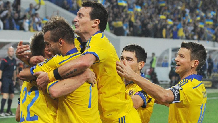 Serhiy Sydorchuk: Congratulated after scoring his first-half winner