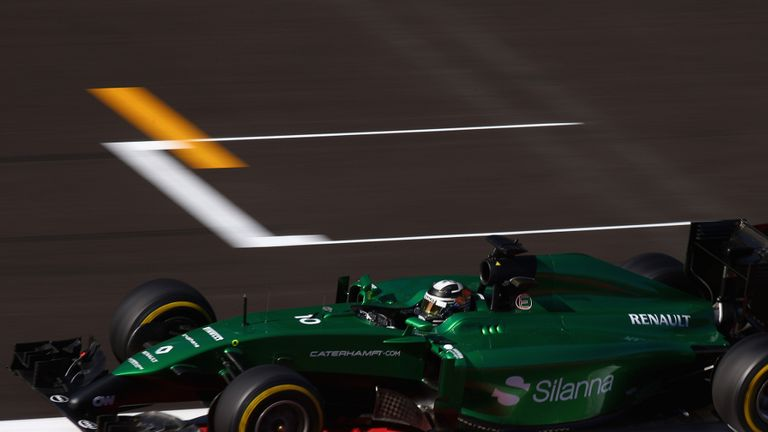 Caterham: F1 team now in the hands of administrators