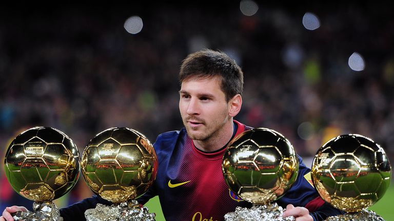 Lionel Messi: Has won the most Ballon d'Or awards