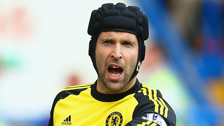 Petr Cech: Has played almost 500 times for Chelsea