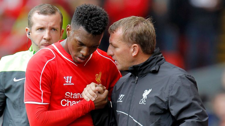 Brendan Rodgers was frequently deprived of Sturridge due to injuries