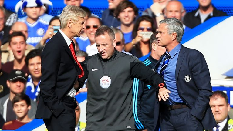 Arsene Wenger has a dream job at Arsenal, according to Chelsea manager Jose Mourinho