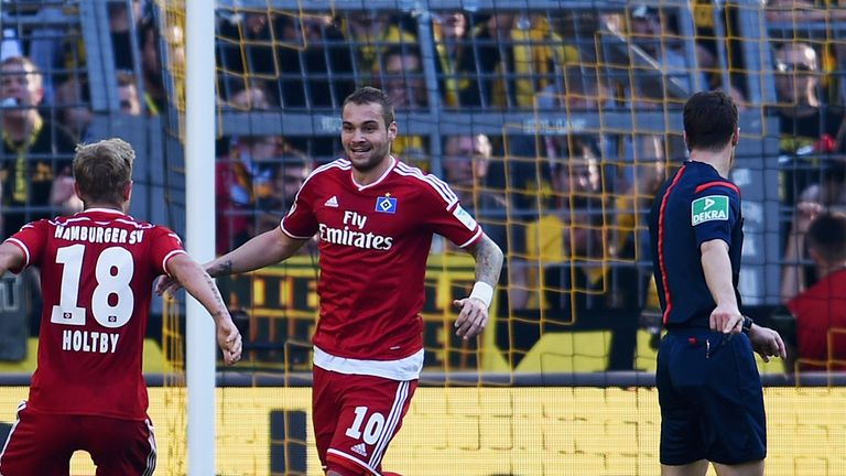 Pierre-Michel Lasogga got the only goal of the game