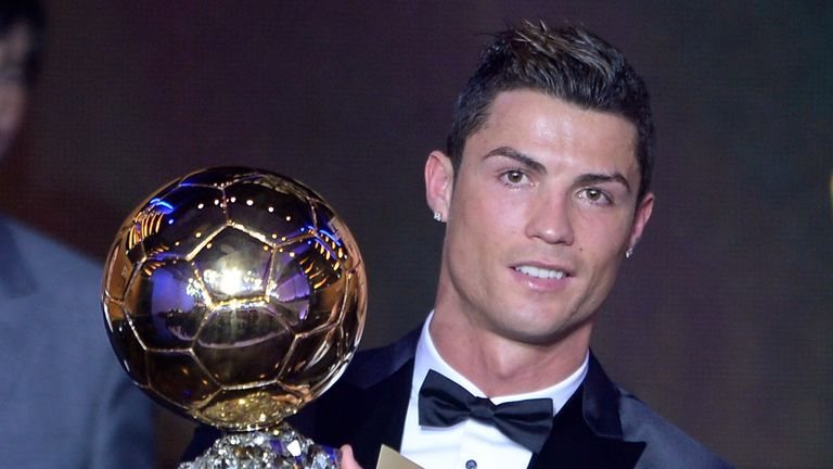 Ronaldo: Winner of the award in 2013