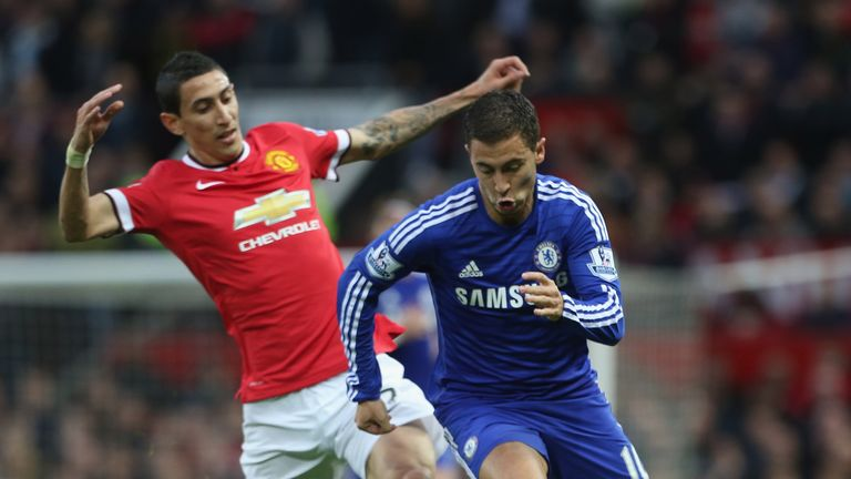 Di Maria and Hazard: Two of the Premier League players on the shortlist