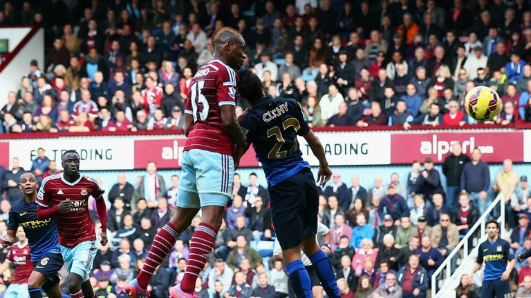 Sakho heads second at Upton Park
