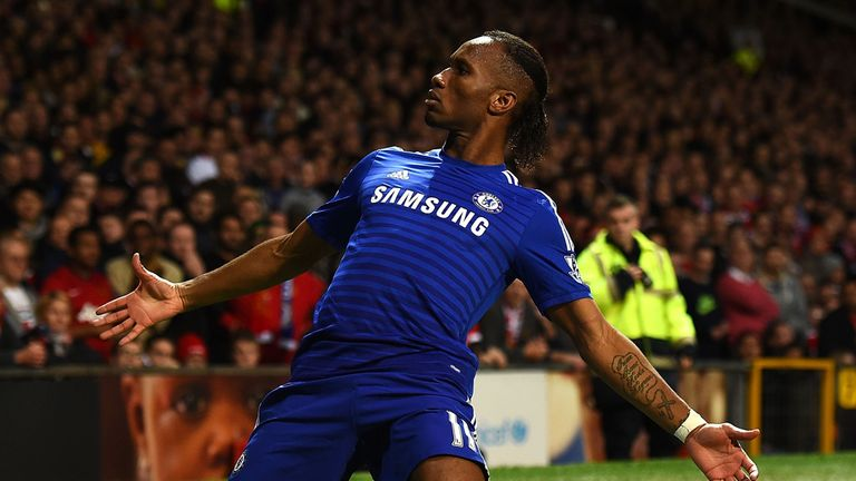 Didier Drogba changed the way a Premier League striker played, says Bellamy