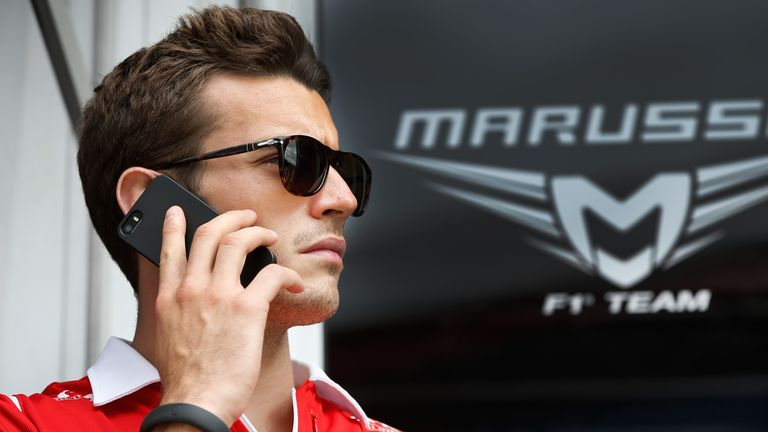 Jules delivered Marussia's first F1 points with a ninth-place finish in Monaco in 2014