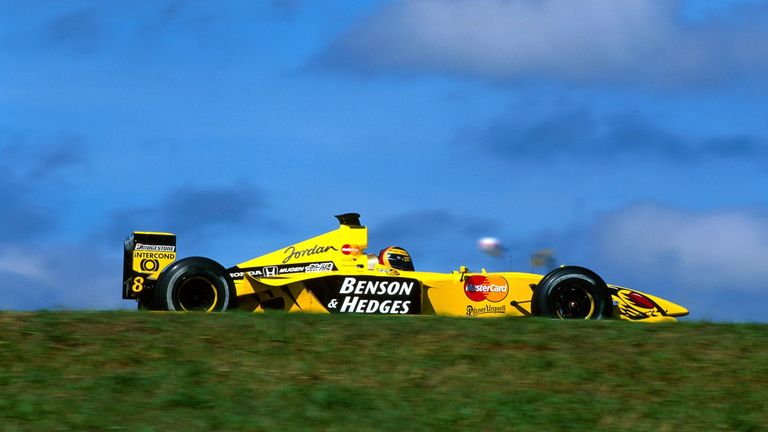 Jordan: Regular race winners in 1998/99