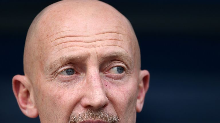 Manager of Millwall Ian Holloway looks on ahead of the Sky Bet Championship match between Millwall and Cardiff City