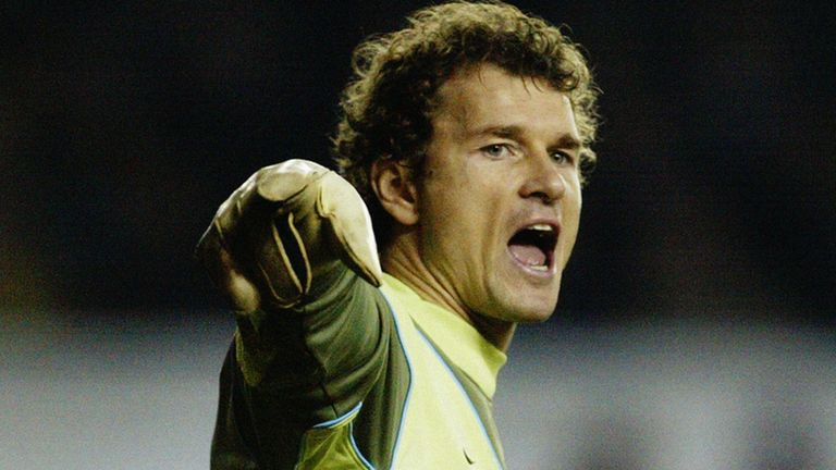 Jens Lehmann played 200 games for Arsenal and helped the club reach the 2006 Champions League final