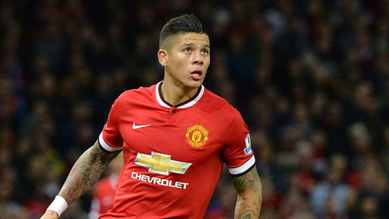 Marcos Rojo: Still doesn't look assured at the heart of the defence, and remains a little mistake-prone. 6/10