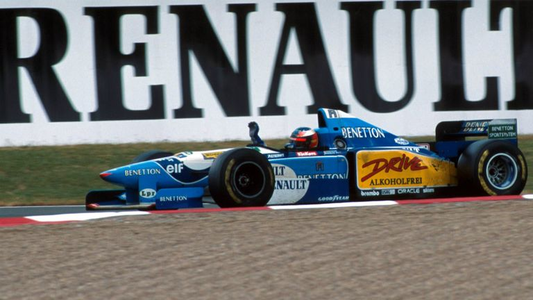 Benetton-Renault were an unstoppable force when they teamed up in 1995
