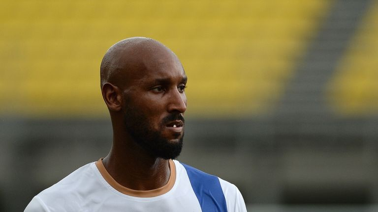 <b>Nicolas Anelka</b>: Despite still officially being banned by FIFA for his controversial 'quenelle' gesture, the Frenchman has also joined Mumbai City.