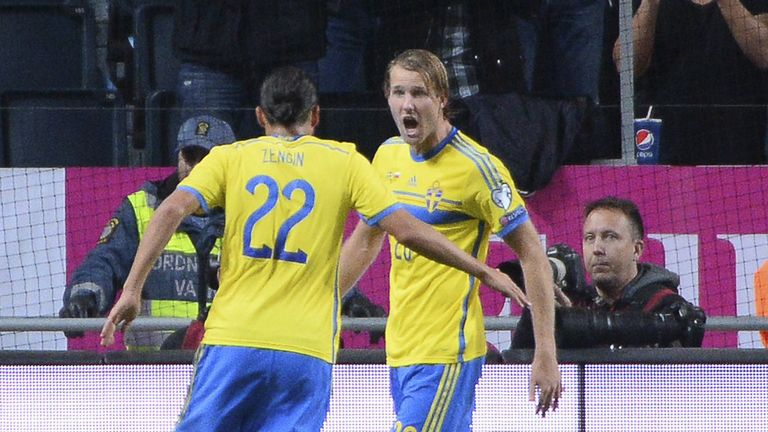Ola Toivonen: Rescued a point for the Swedes