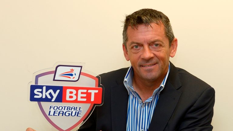 Pic by Arfa.Phil Brown SKYBET Manager of the Month League Two 09-10-2014