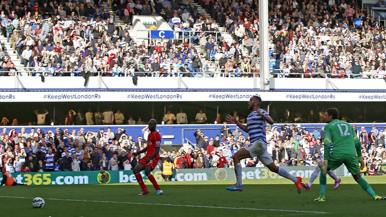 Steven Caulker: Watches on helplessly as his own goal settles the contest