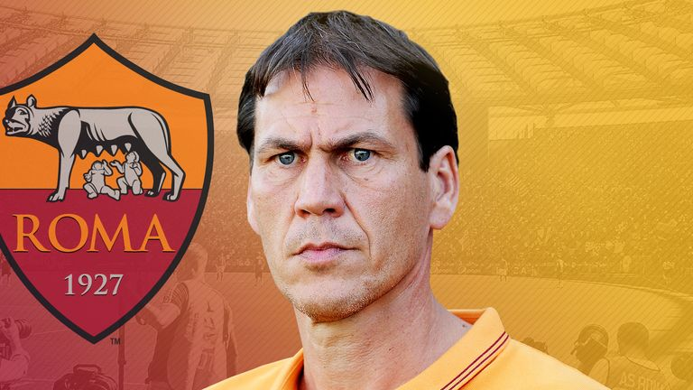 Rudi Garcia has been relieved of his duties as Roma boss