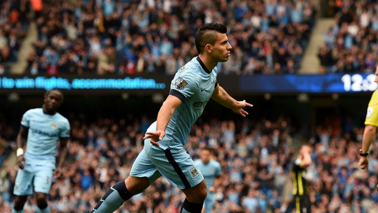 Sergio Aguero: Scored four and missed a penalty