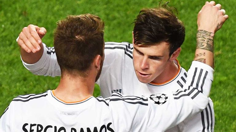 Sergio Ramos and Gareth Bale will both miss Real Madrid's match at Liverpool