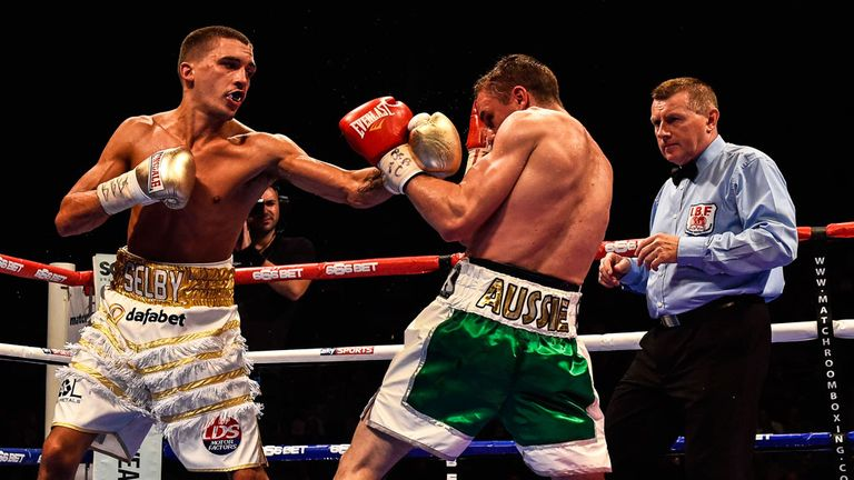 Lee Selby: Earned his shot by defeating Joel Brunker (photo by Russell Pritchard)