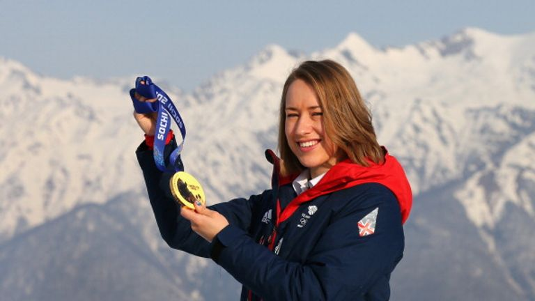 Lizzy Yarnold was Britain's sole gold medallist in Sochi four years ago