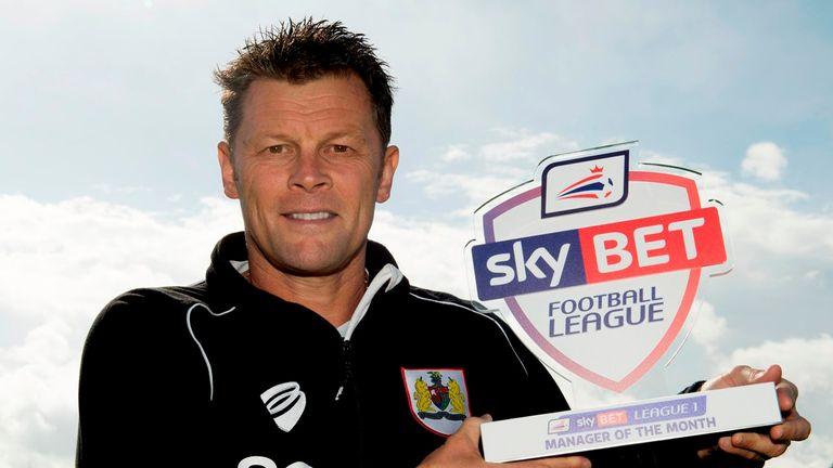 Steve Cotterill: Great month for Bristol City boss